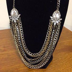 "Exquisite necklace 22"" dazzling special occasion"